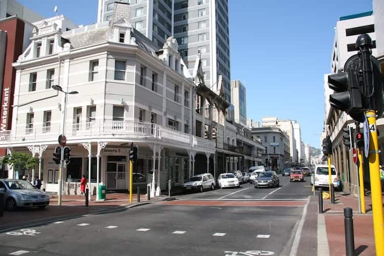 Long street, central Cape Town