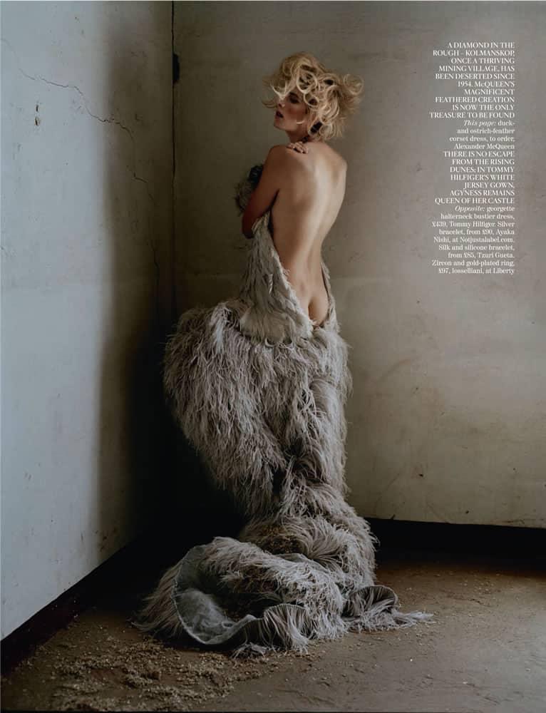 UK Vogue – Tim Walker – Namibia - Production by Baker & Co