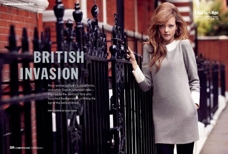 Photo Production Company London - Baker Kent - UK Cosmopolitan