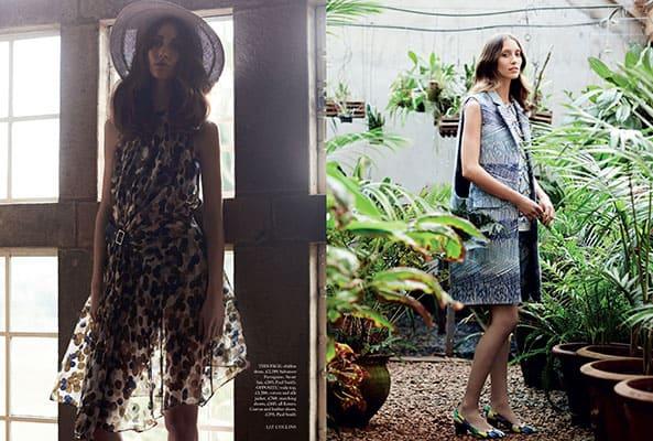 Photo Production Kenya - Harper's Bazaar UK - Baker Kent