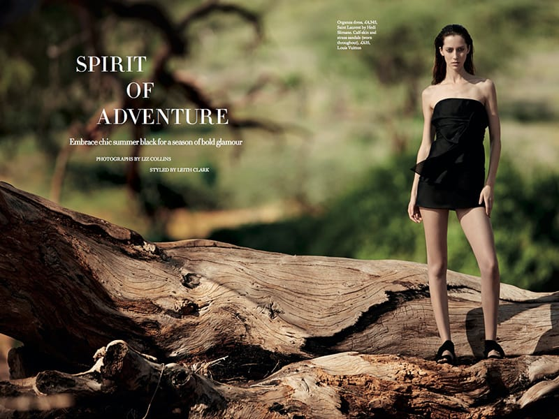 Baker Kent Photo Production Kenya - Harper's Bazaar - Spirit of Aventure