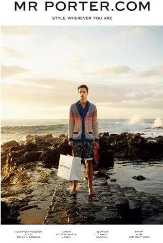 Photo Production Reunion Island - Baker Kent - Mr Porter by Tom Craig