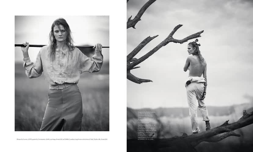 Baker Kent Photo production Tanzania - Porter Magazine Boo George