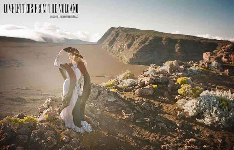 Baker Kent photo production Reunion Island Vogue Tom Craig