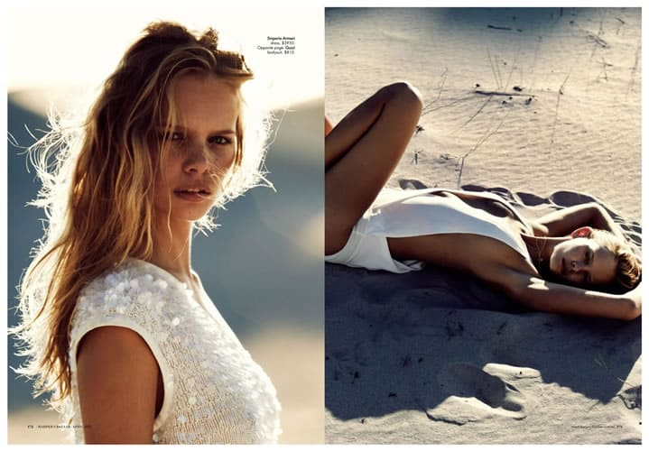 Baker kent photo production cape town Australian Harpers Bazaar