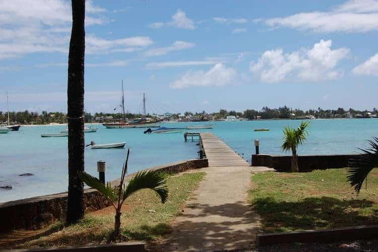 Board walk and boats