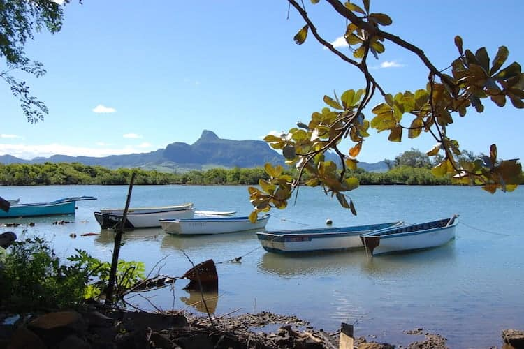 Boats in still water