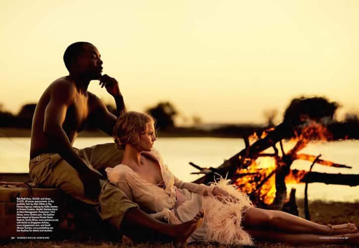 Baker Kent Photo production South Africa - Harpers Bazaar - Wanderlust