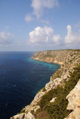 Rocky coast, Ibiza