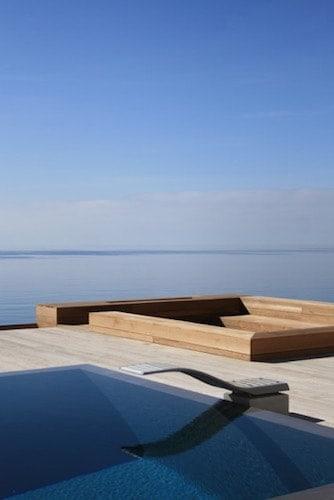 Luxury swimming pool in Ibiza
