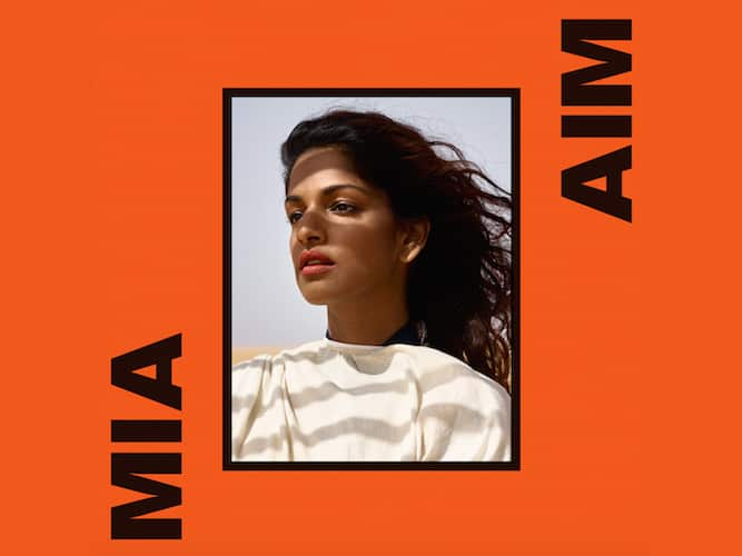 MIA Album Cover By Viviane Sassen