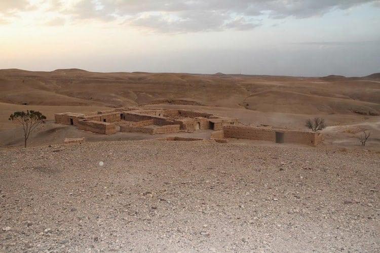Desert buildings in Morocco