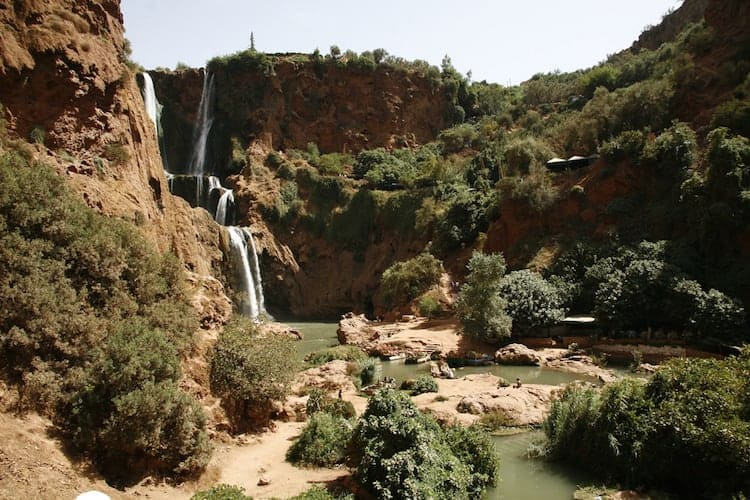 Waterfall in Morocco