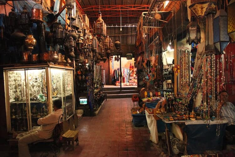 Moroccan store