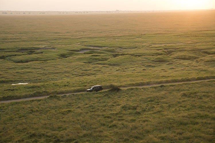 Savanna plains, Tanzania
