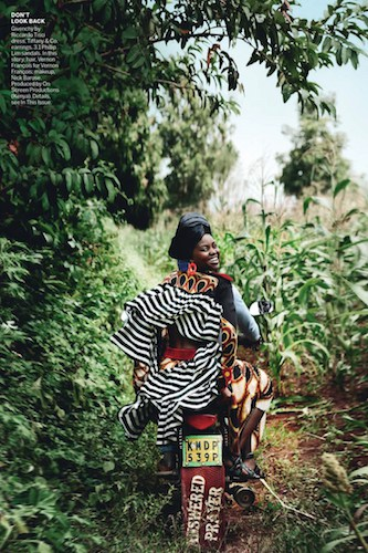US Vogue – Mario Testino – Kenya - Production by Baker & Co