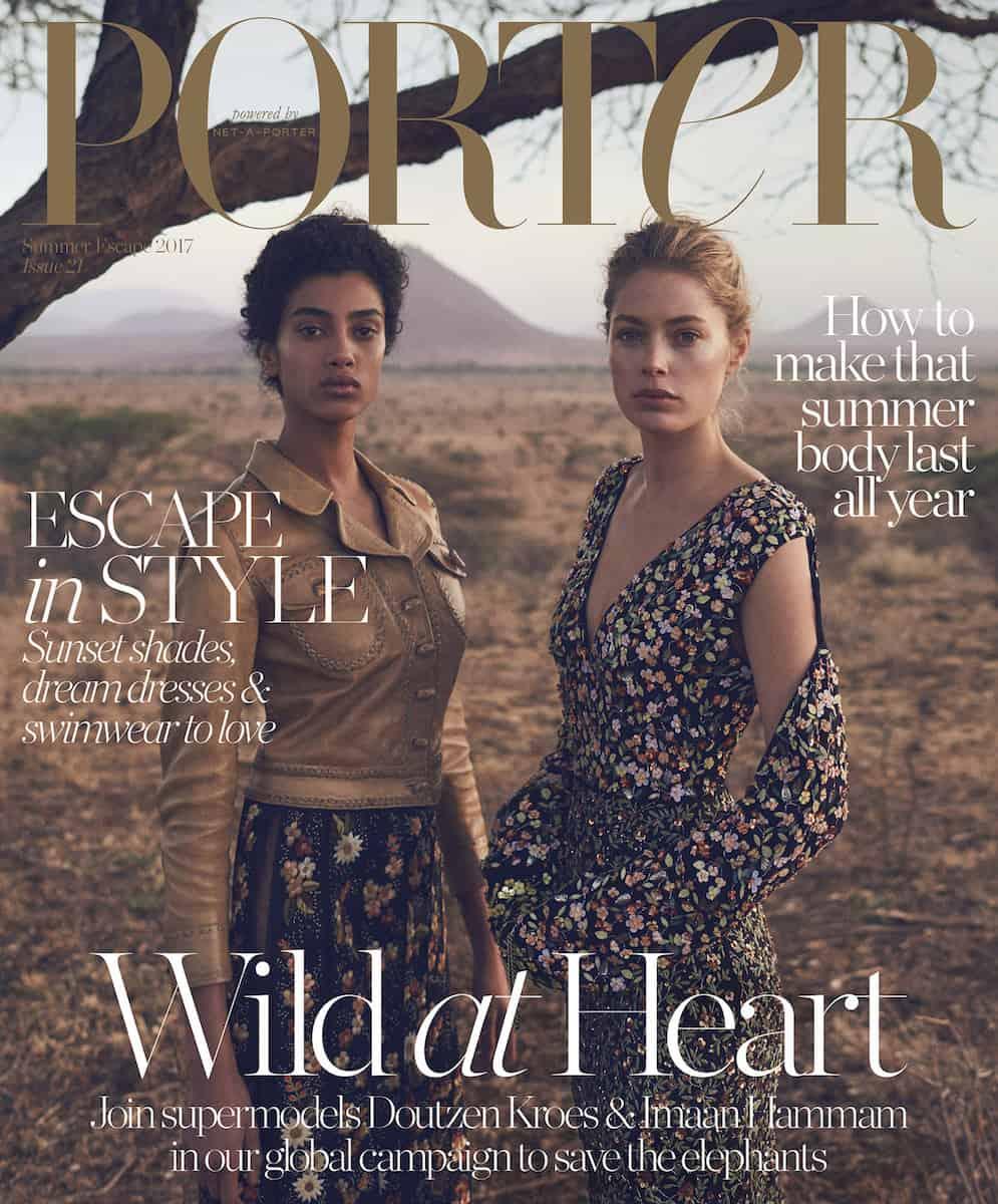 Porter Magazine – Vincent Van De Wijngaard – Kenya - Production by Baker & Co