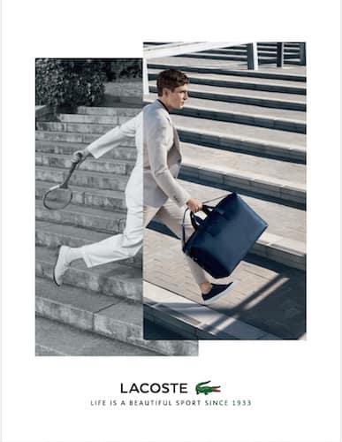 Lacoste – Jacob Sutton – Cape Town - Production by Baker & Co