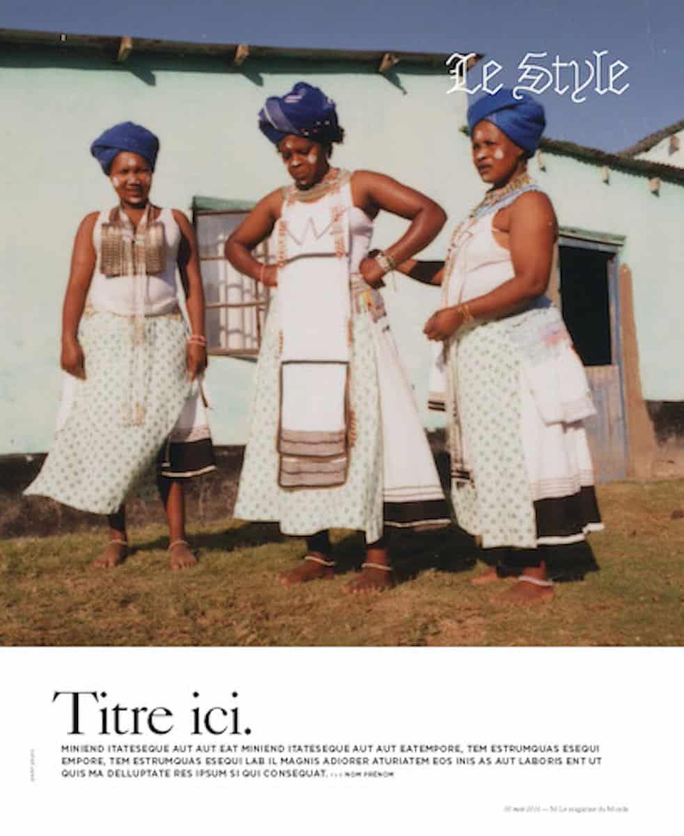 Le Monde – Lea Colombo – Eastern Cape - Production by Baker & Co