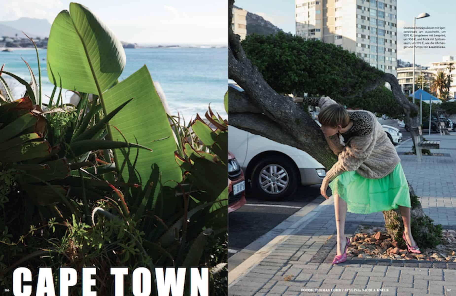 German Vogue – Thomas Lohr – Cape Town - Production by Baker & Co