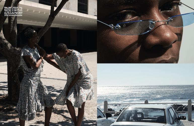 Baker Kent - German Vogue - Cape Town