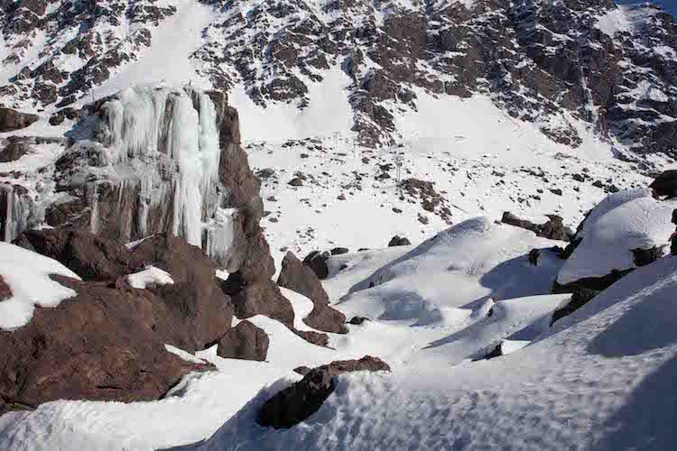 Snowy production location, Chile