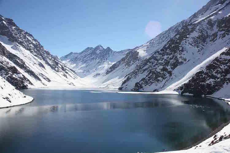 Ice lake, Chile