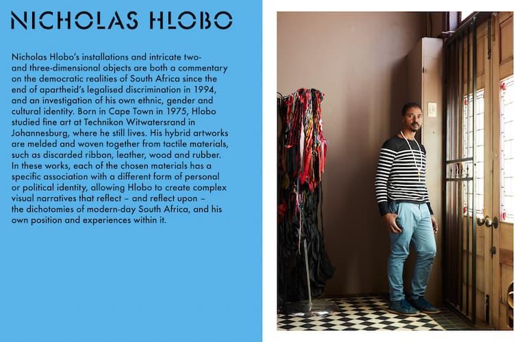 Artycapucines book, Nicholas Hlobo