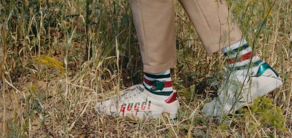 Gucci shoes with stripes