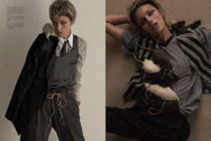 Vogue Italy- Animal Issue - Anja Rubik - Tom Guiness - Photo Production Baker and Co - Cape Town