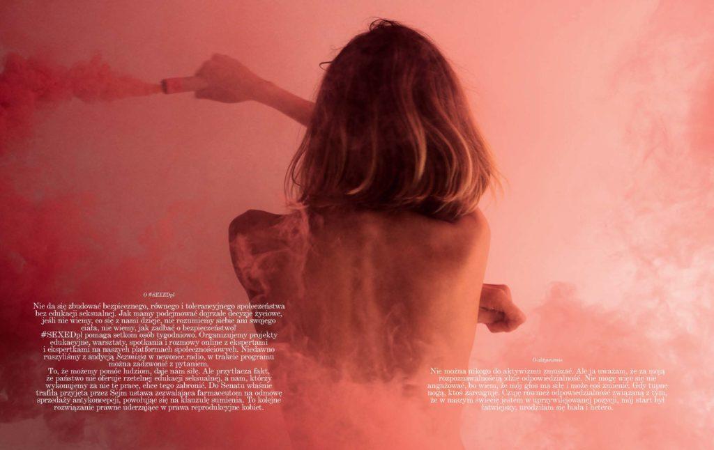Anja Rubik - Polish Vogue - Cape Town - Production by Baker & Co