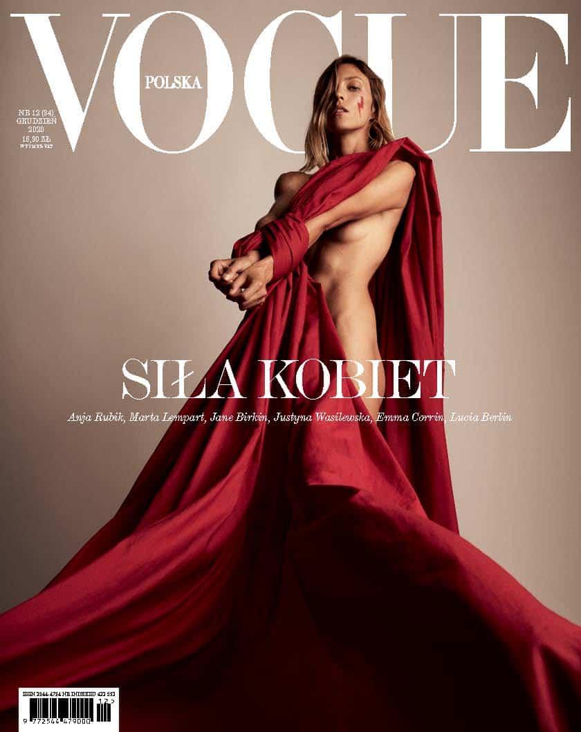 Polish Vogue - Anja Rubik