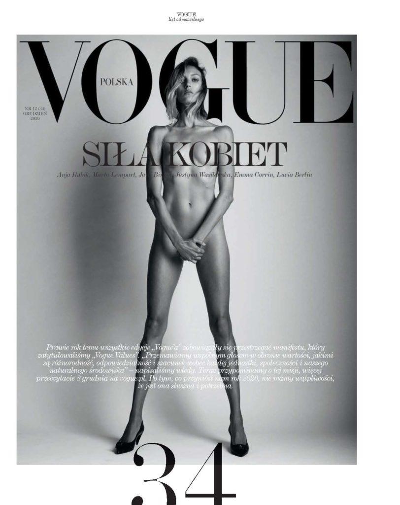 Polish Vogue - Anja Rubik - Cape Town - Production by Baker & Co