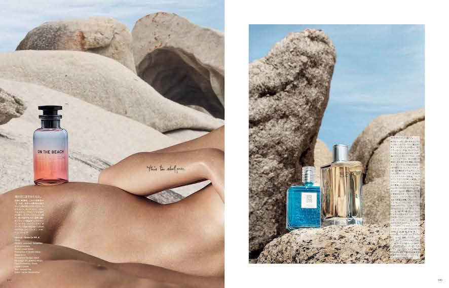 Vogue Japan - Kevin Mackintosh - Cape Town - Photo Production Baker & Co